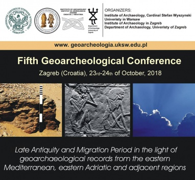 The 5th Geoarchaeological Conference - first call