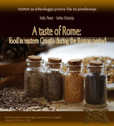 A taste of Rome: food in eastern Croatia during the Roman period