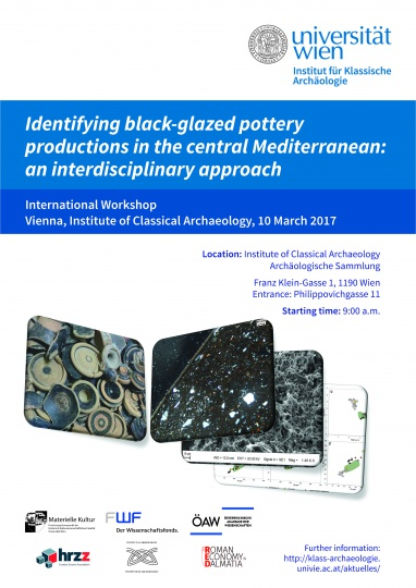 Identifying black-glazed pottery productions in the central Mediterranean: an interdisciplinary approach