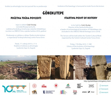 Göbeklitepe - starting point of history