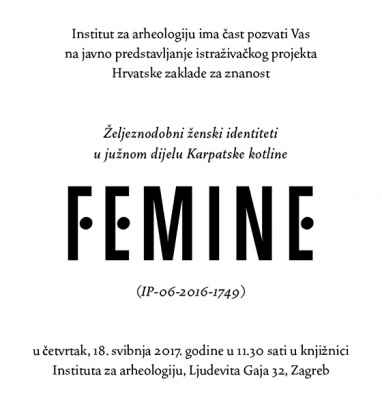 Introduction of FEMINE project