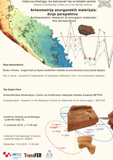 Archaeometric research of anorganic materials: two perspectives