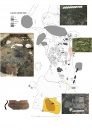 Plan of the Late Bronze Age house with finds of cereal grains