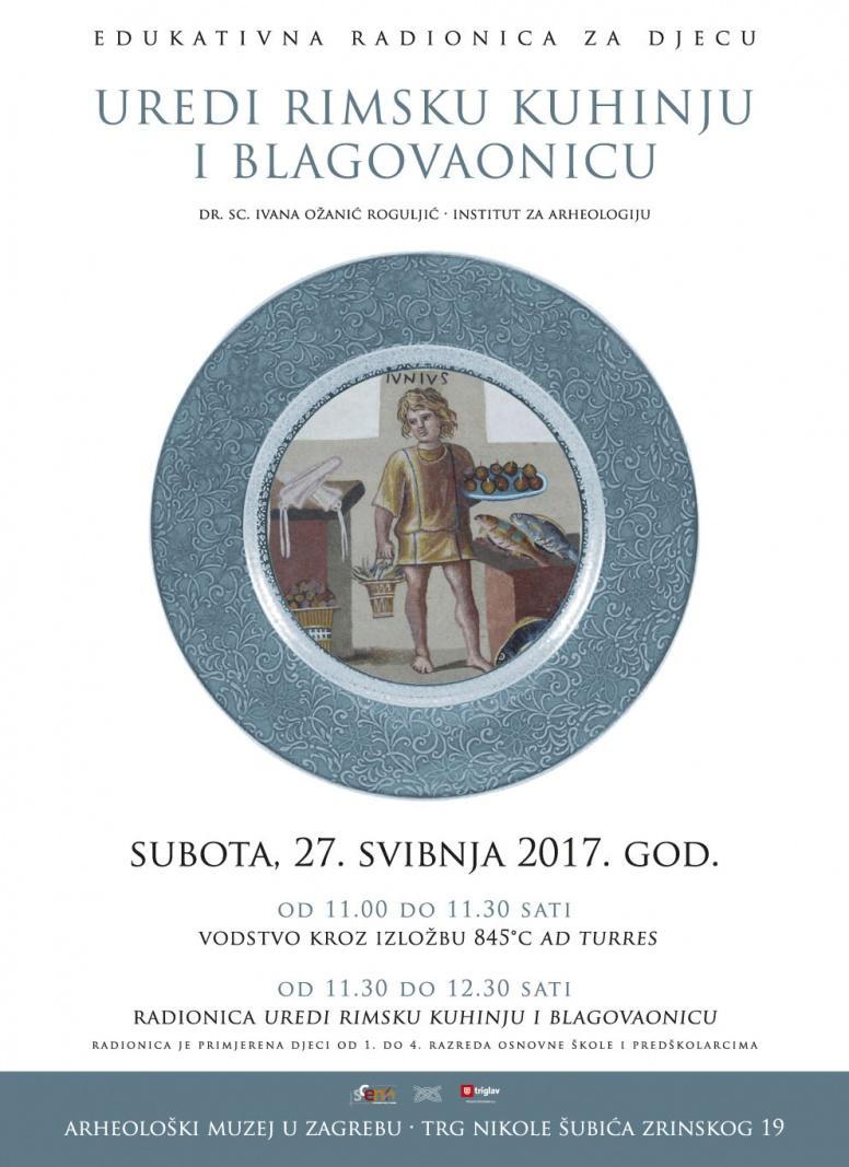 IARH – Radionica 'Uredi rimsku kuhinju i blagovaonicu' (PRESS)