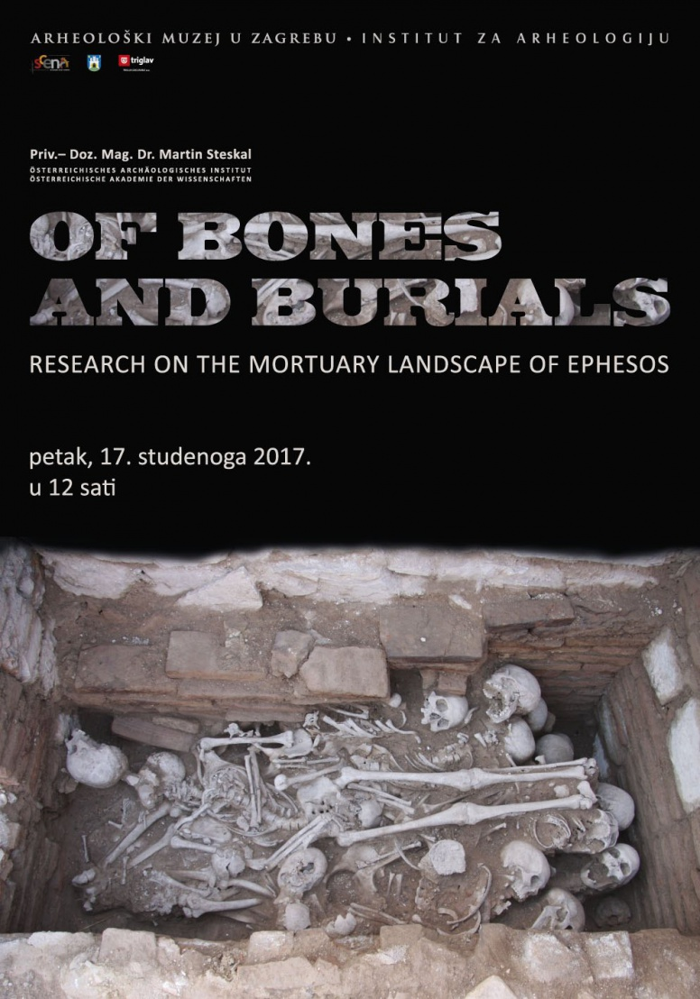 "AMZ | IARH – Predavanje ""Of Bones and Burials. Research on the mortuary landscapes of Ephesos"" (PRESS)"